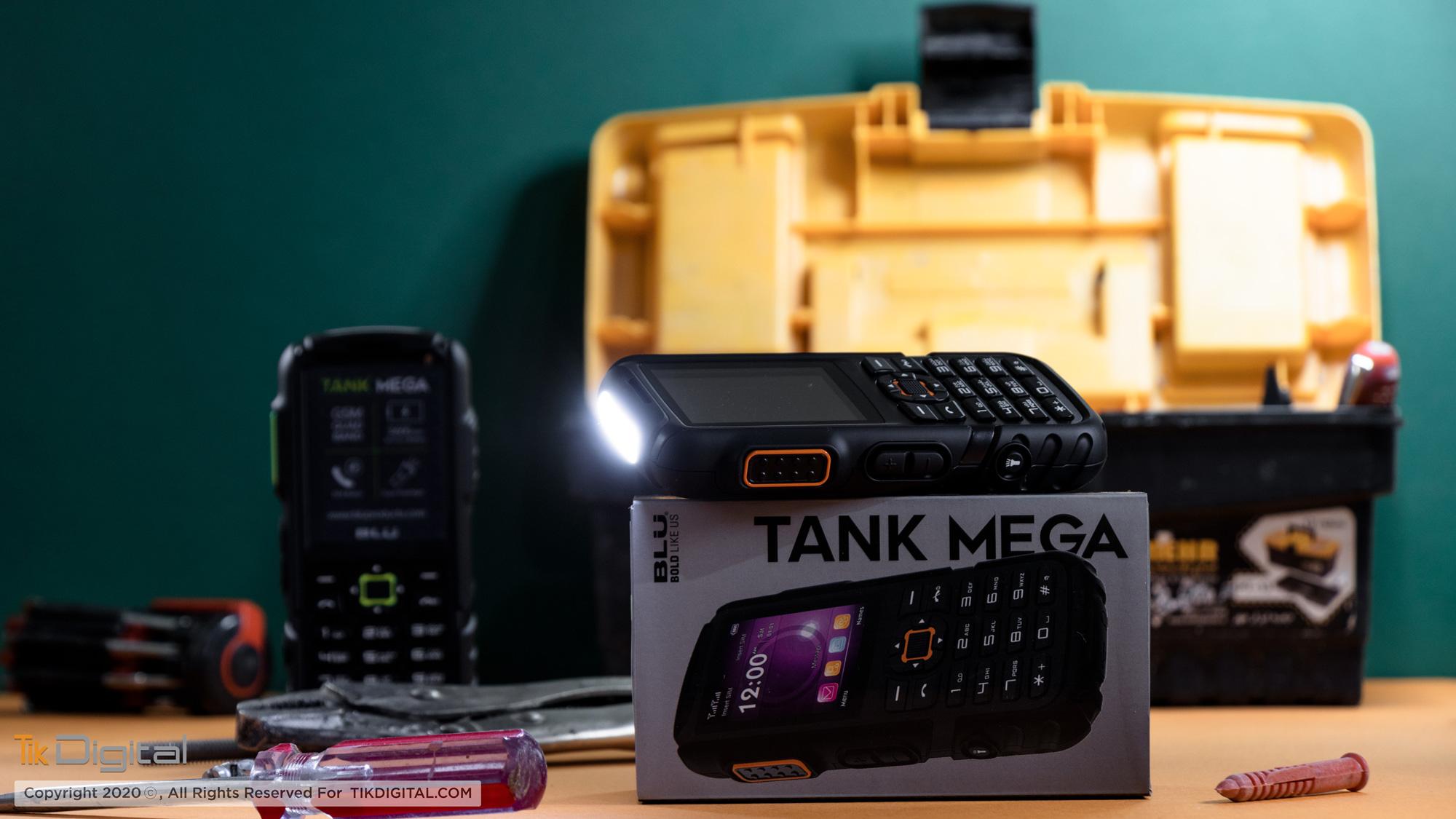 گوشی دکمه ای Tank Mega